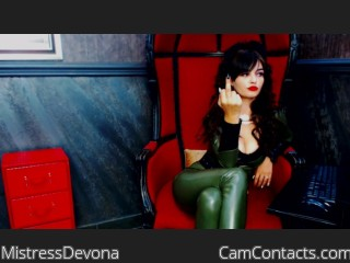 Cam 2 cam with English Mistress MistressDevona longs for a power play partner