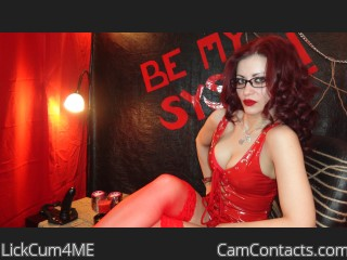Bondage cam fun with Domme LickCum4ME fancies a fat wallet
