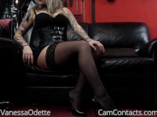 Bondage cam fun with Energy Hoe VanessaOdette seeks wankers