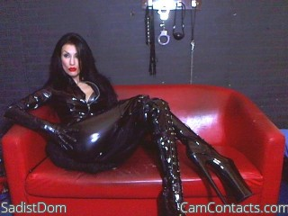 Cam 2 cam with British Mistress SadistDom craves wankers
